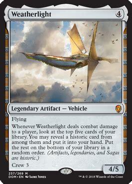 Weatherlight from Dominaria Spoiler