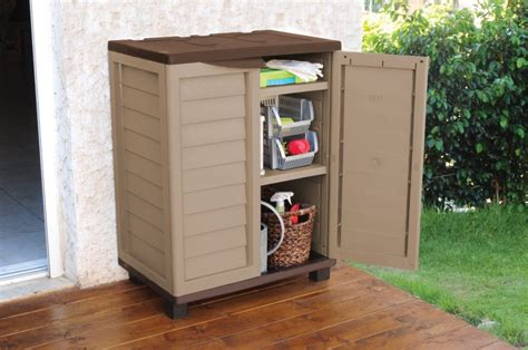Weatherproof outside storage cabinets for your garden ...
