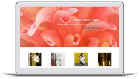 Webdesign und Text für moderne Homepage - Website mit ...