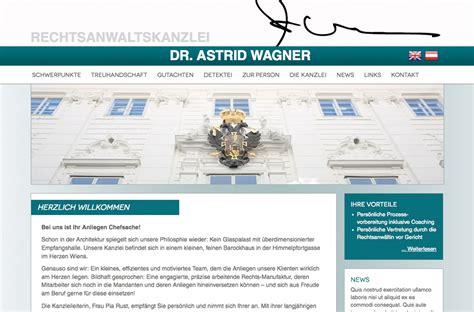 Webdesign Wien & Logo Referenzen: Dr. Astrid Wagner