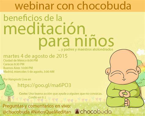 Webinar gratis: Beneficios de la meditación para niños y ...