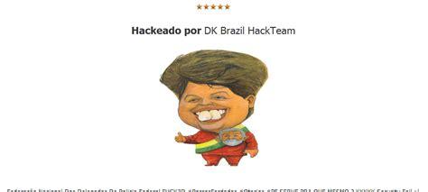Website of Brazilian Federal Police Organization Hacked ...