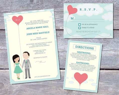 wedding invitation : printable wedding invitation ...