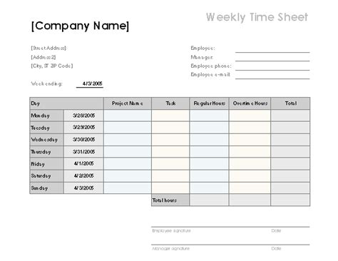 Weekly timesheet sufficient depiction meanwhile template 9 ...