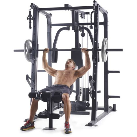 Weider Pro 8500 Smith Cage Strength Trainer Top Quality ...