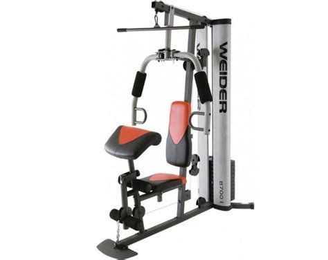 Weider Pro 8700I Multigym   Boxed and Assembly Needed