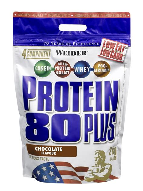 Weider Protein 80 Plus   Bodybuilding and Sports Supplements