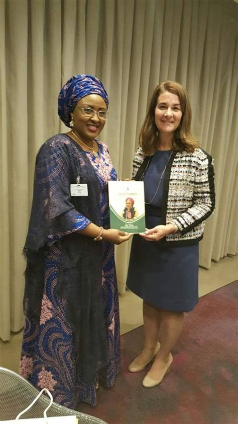 WELCOME TO LTBLOG 7: Melinda Gates Meets Aisha Buhari :Photos