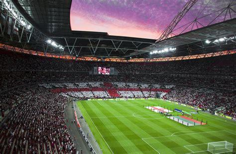 Wembley Football Stadium, London - England Vs Bulgaria ...