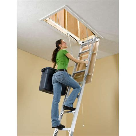 Werner Aluminum Attic Ladder | Werner Aluminum Ladders