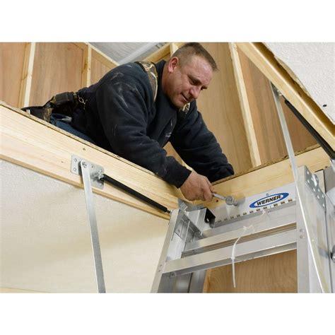 Werner Aluminum Ladder | Werner Aluminum Attic Ladders