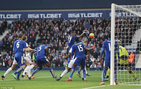West Brom 2 3 Leicester: Jamie Vardy makes it eight in a ...