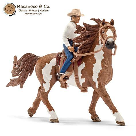 Western Riding Set Figurine   Macanoco and Co.
