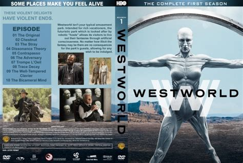 Westworld - Season 1 - DVD Covers & Labels by CoverCity