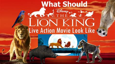 What Disney s Upcoming The Lion King Live Action Movie ...