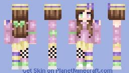 What do you mean, it's not spring yet?! Minecraft Skin