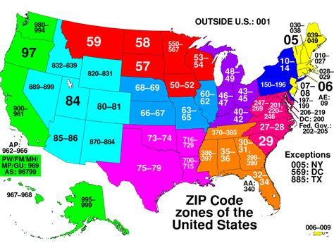 What do ZIP codes mean   Business Insider
