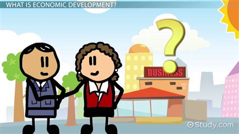What is Economic Development? - Definition & Examples ...