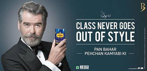 What Is Pan Bahar Featured in Pierce Brosnan TV Ad?