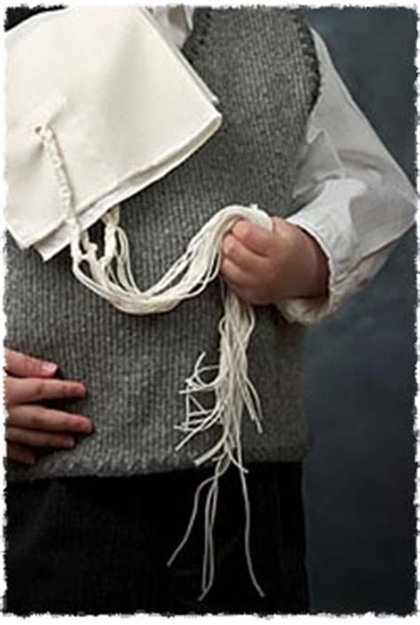 What Is Tzitzit? - Mitzvahs & Traditions