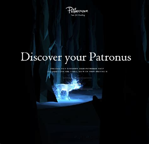 What Is Your Patronus? Find Out on Pottermore (Finally ...