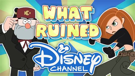 What RUINED Disney Channel? - YouTube