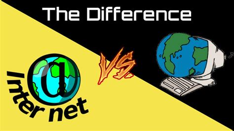 What's The Difference Between The Internet And World Wide Web?