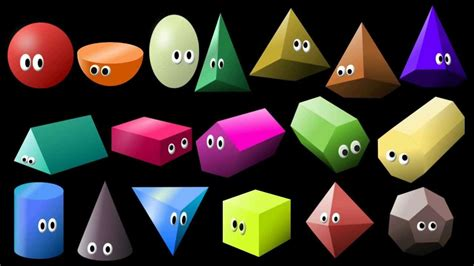 What Shape Is It? 2: 3D Shapes - Learn Geometric Shapes ...