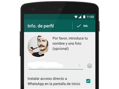 WhatsApp: así puedes cambiar la foto de perfil de tu ...