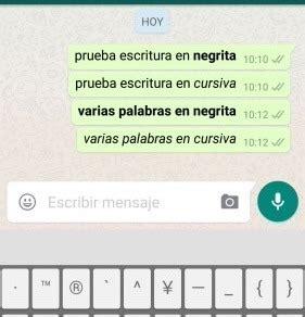 WhatsApp estrena nuevas formas de escribir los mensajes ...