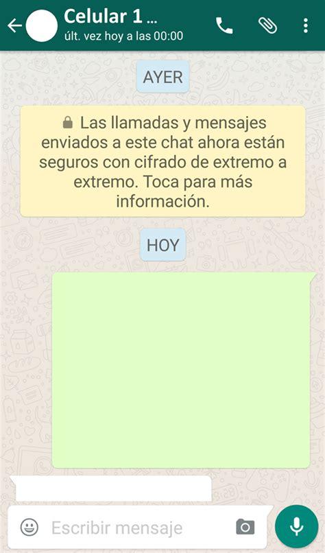 WhatsApp Las llamadas y mensaje de texto enviados a este ...