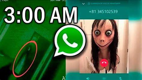 WhatsApp:  Momo  y el inesperado mensaje a las 3:00 am ...