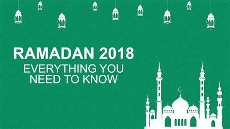 When does Ramadan start in 2018, why does it change each ...