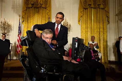 When Stephen Hawking Went to the White House - The Atlantic