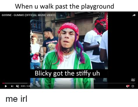 When U Walk Past the Playground 6IX9INE GUMMO OFFICIAL ...