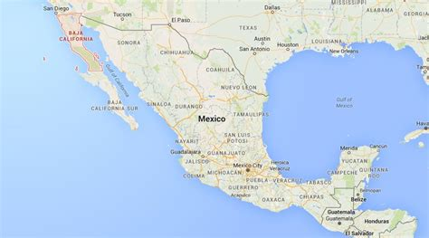 Where is Baja California on map Mexico | World Easy Guides