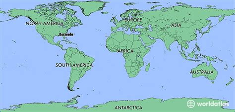 Where is Bermuda? / Where is Bermuda Located in The World ...