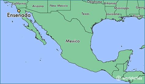 Where is Ensenada, Mexico? / Ensenada, Baja California Map ...
