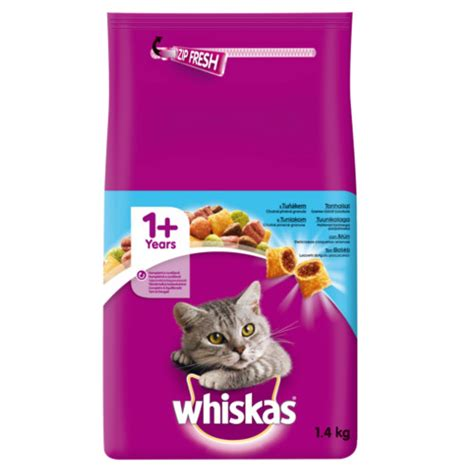 Whiskas pienso para gatos con atún - Tiendanimal
