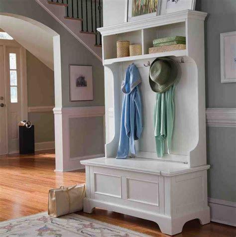 White Hall Tree Storage Bench - Home Furniture Design