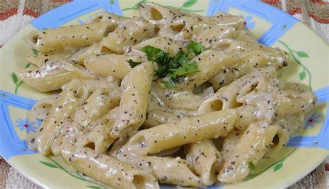 white sauce pasta recipe italian