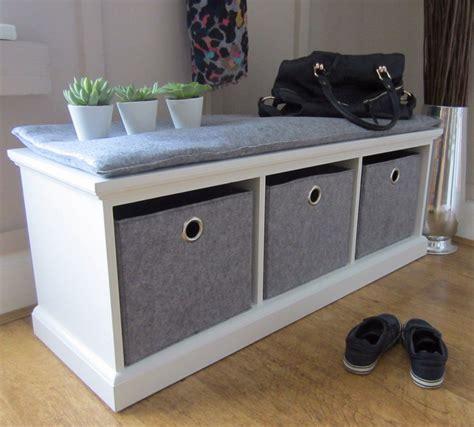 White Wood Storage Bench Seat : Ideal White Wood Storage ...