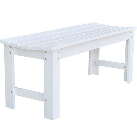 white wooden garden bench   28 images   sandwick winawood ...