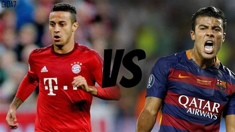 Who is the better Alcántara? Thiago or Rafinha Skills and ...