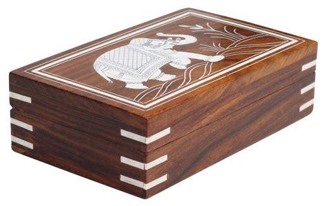 """Wholesale 7x5"""" Wood Elephant Jewelry Box in Bulk ..."""