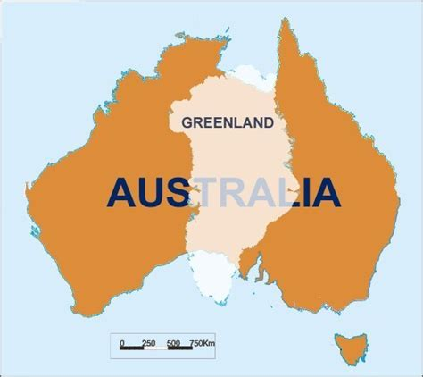 Why Greenland is an Island and Australia is a Continent