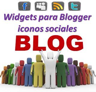 Widgets para Blogger iconos sociales | Ayuda de Blogger