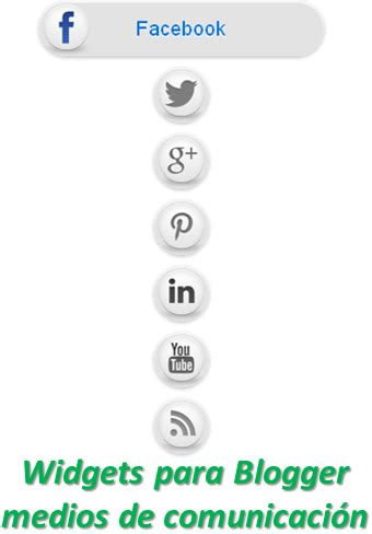 Widgets para Blogger medios de comunicación | Ayuda de Blogger