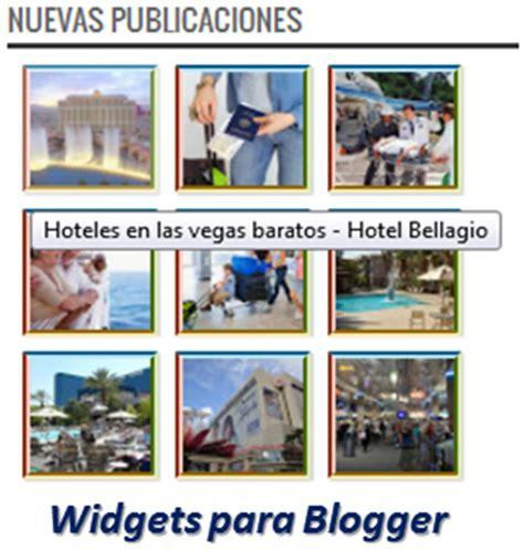 Widgets para Blogger – Nuevas Publicaciones | Ayuda de Blogger