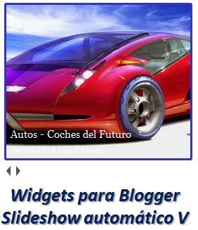 Widgets para Blogger – Slideshow automático V | Ayuda de ...